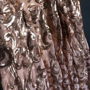 Windsor Prom dress rose gold